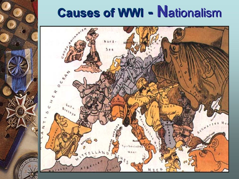 Causes of WWI - Nationalism