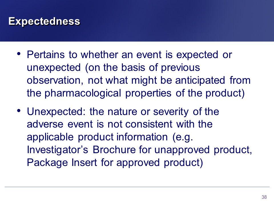 Expectedness