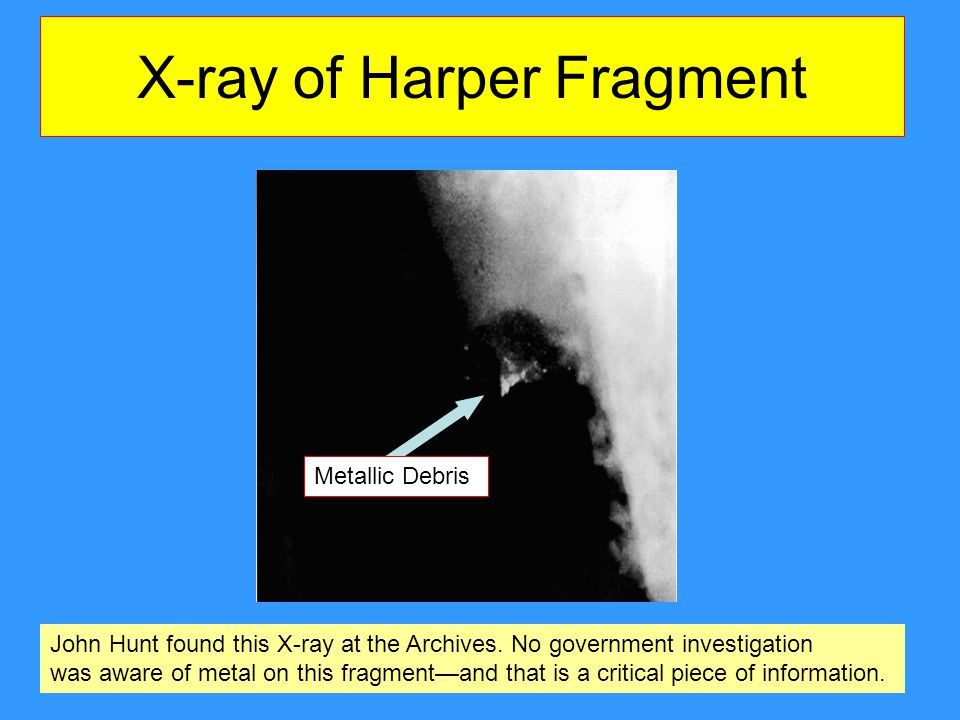 X-ray of Harper Fragment