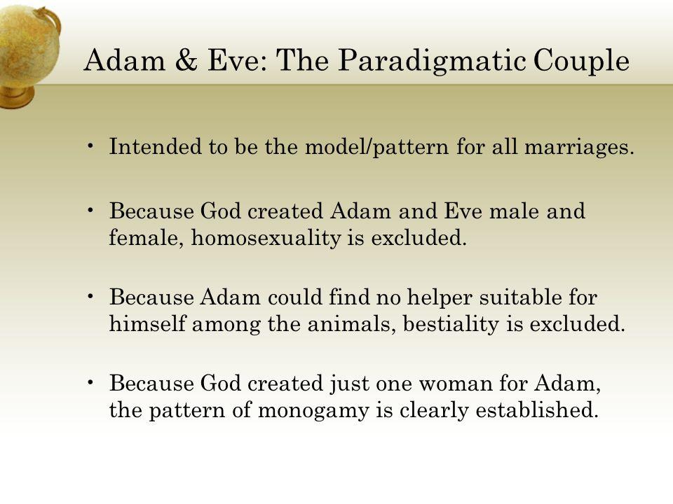 Adam & Eve: The Paradigmatic Couple