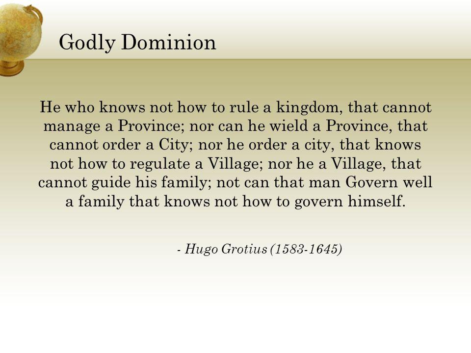 Godly Dominion