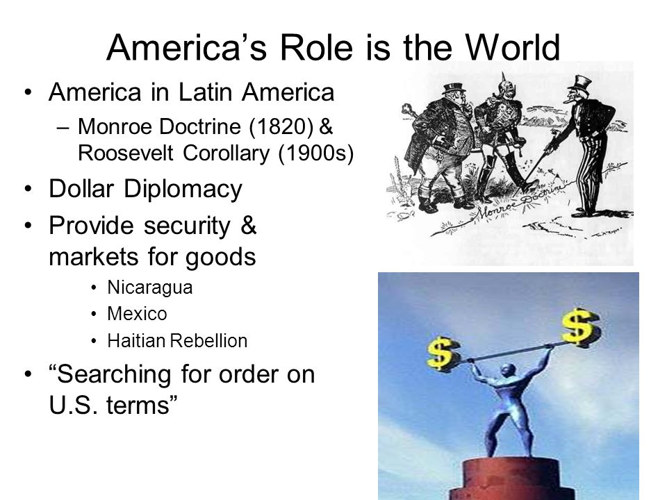 America's Role is the World