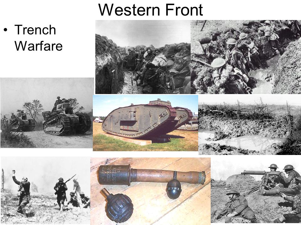 Western Front Trench Warfare