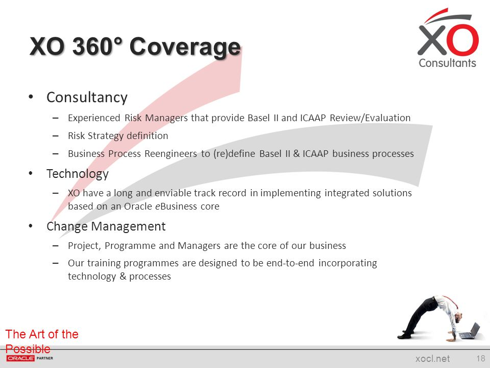 XO 360° Coverage Consultancy Technology Change Management
