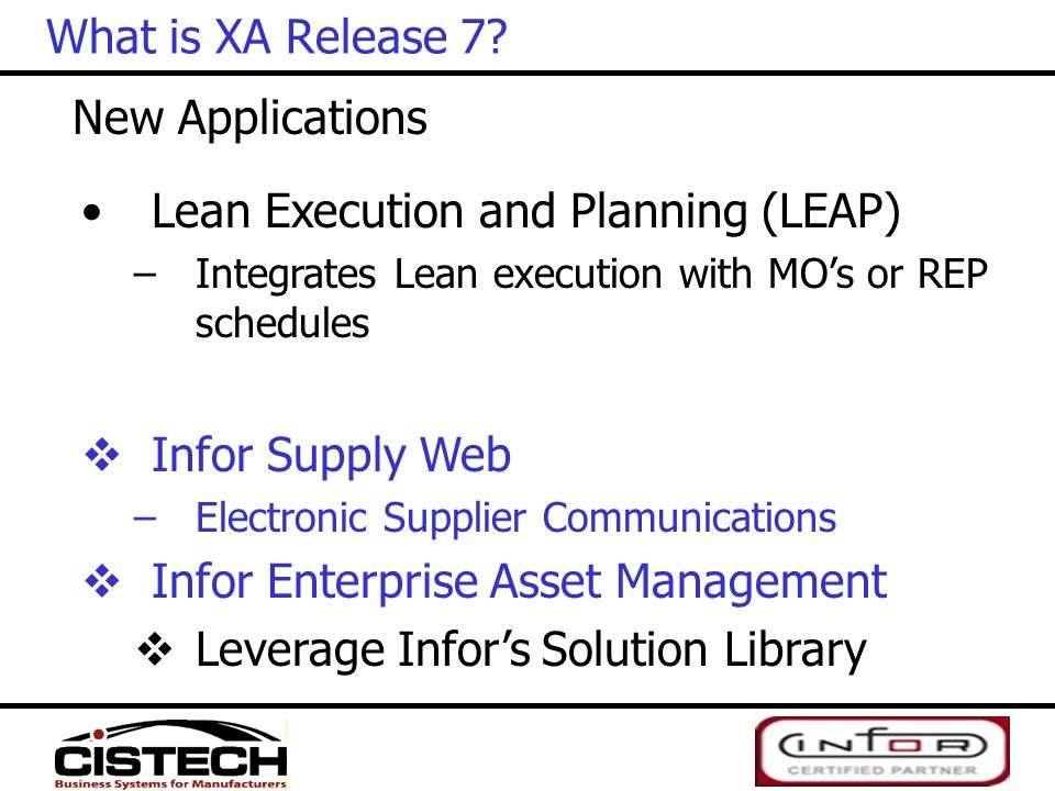 Lean Execution and Planning (LEAP)