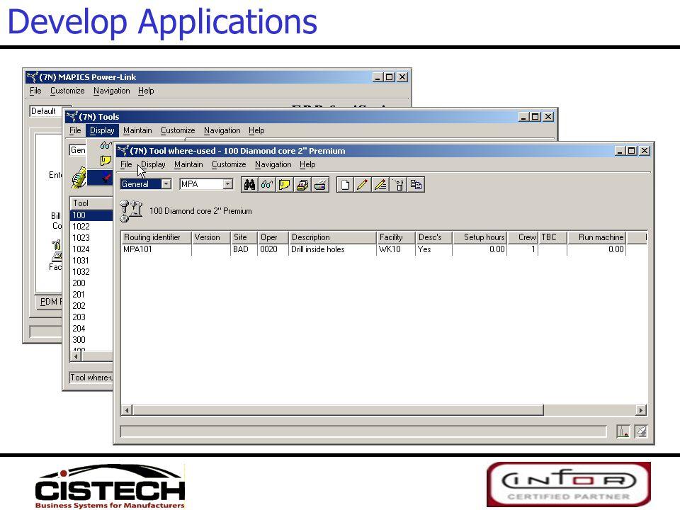 Develop Applications