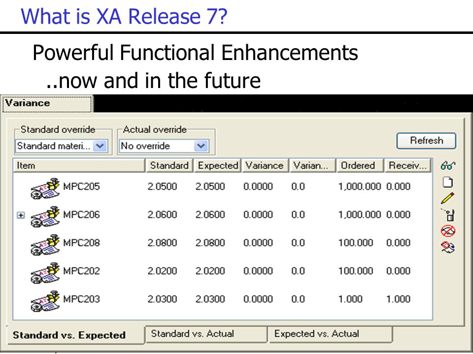 What is XA Release 7 Powerful Functional Enhancements ..now and in the future