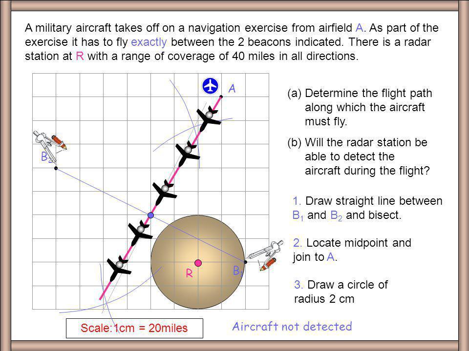 Q7 B2. A. B1. Scale:1cm = 20miles.