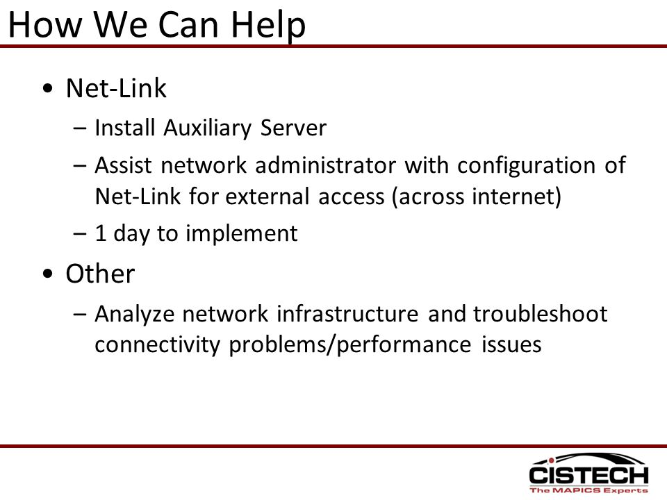 How We Can Help Net-Link Other Install Auxiliary Server