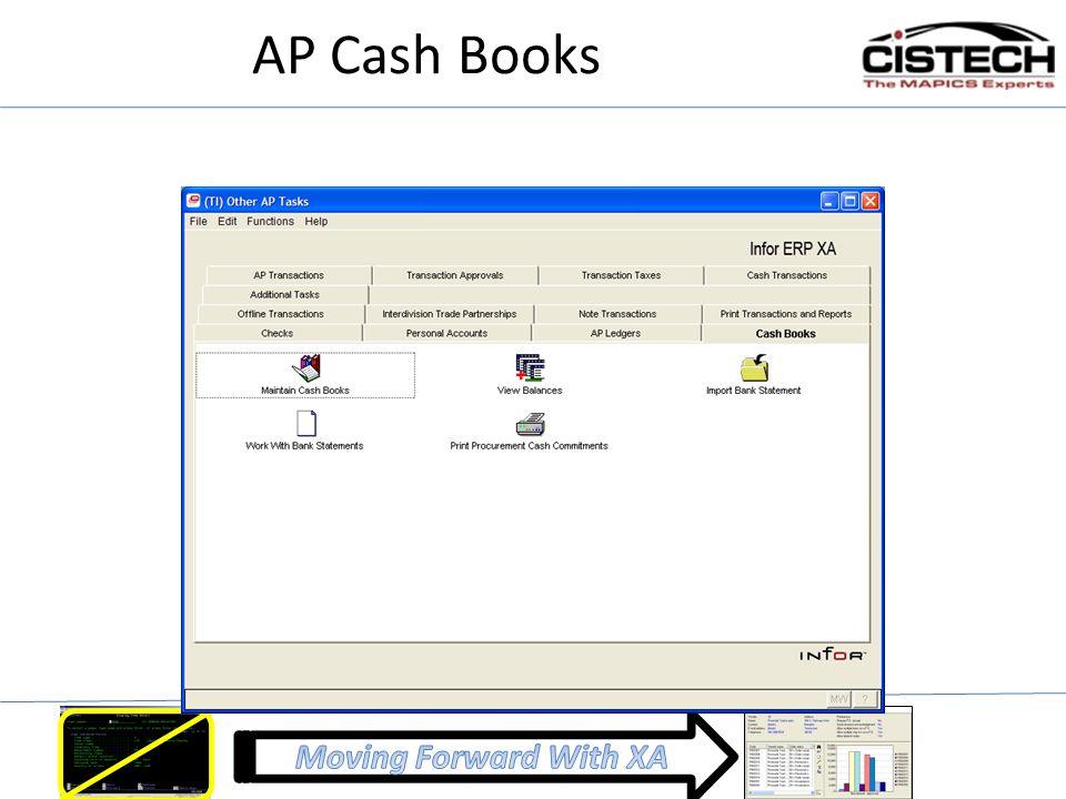 AP Cash Books