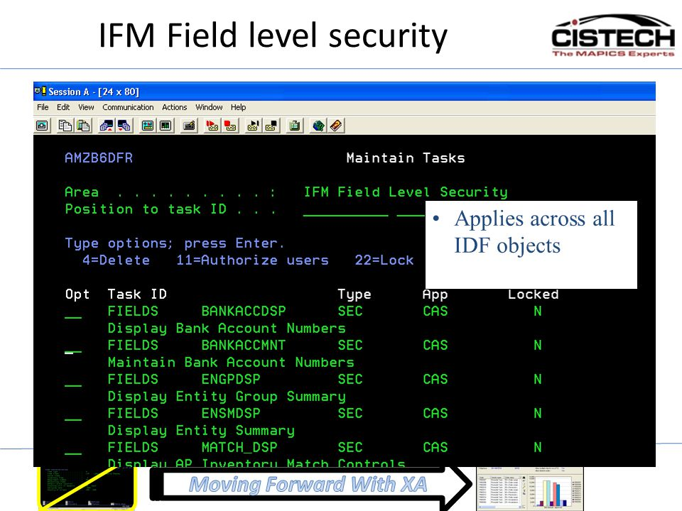 IFM Field level security