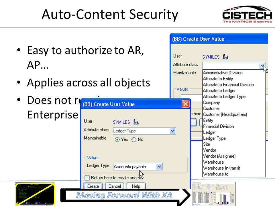 Auto-Content Security