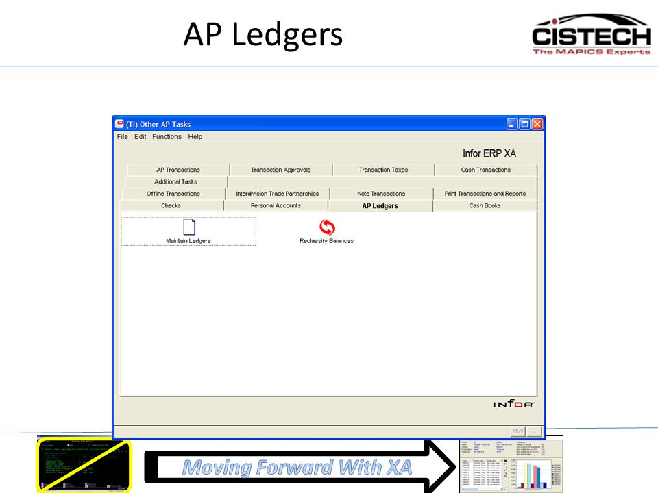 AP Ledgers