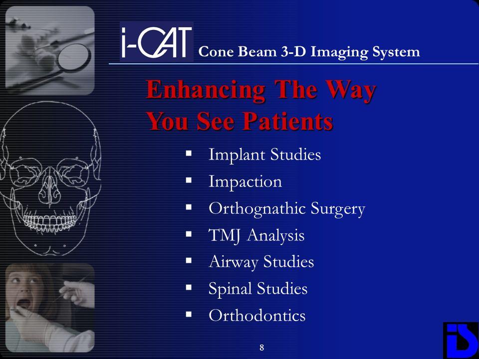 Cone Beam 3-D Imaging System