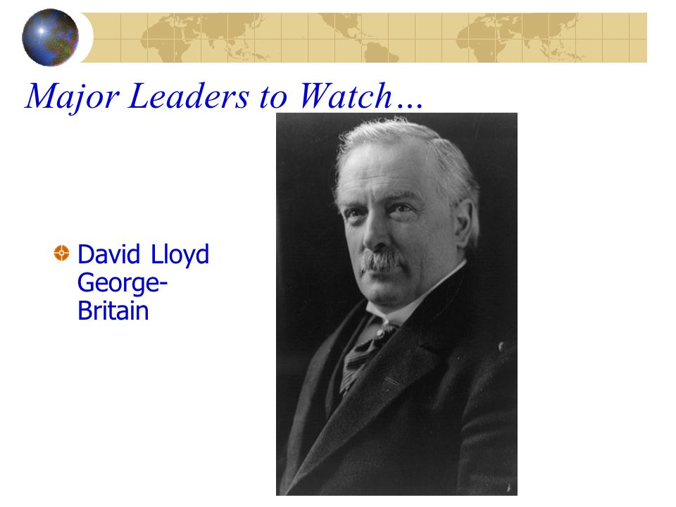 Major Leaders to Watch…
