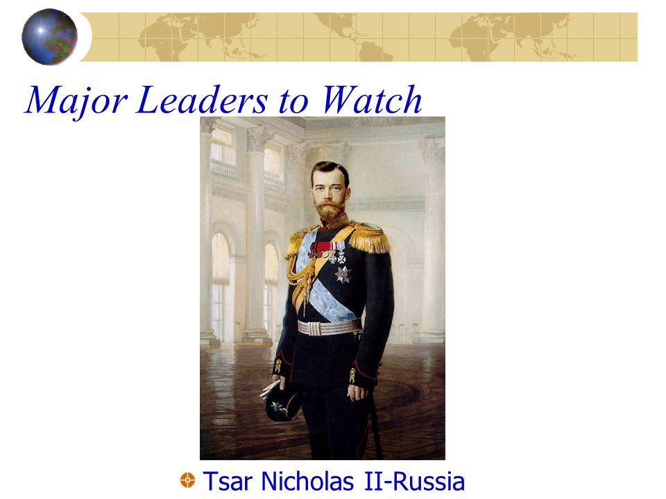 Tsar Nicholas II-Russia
