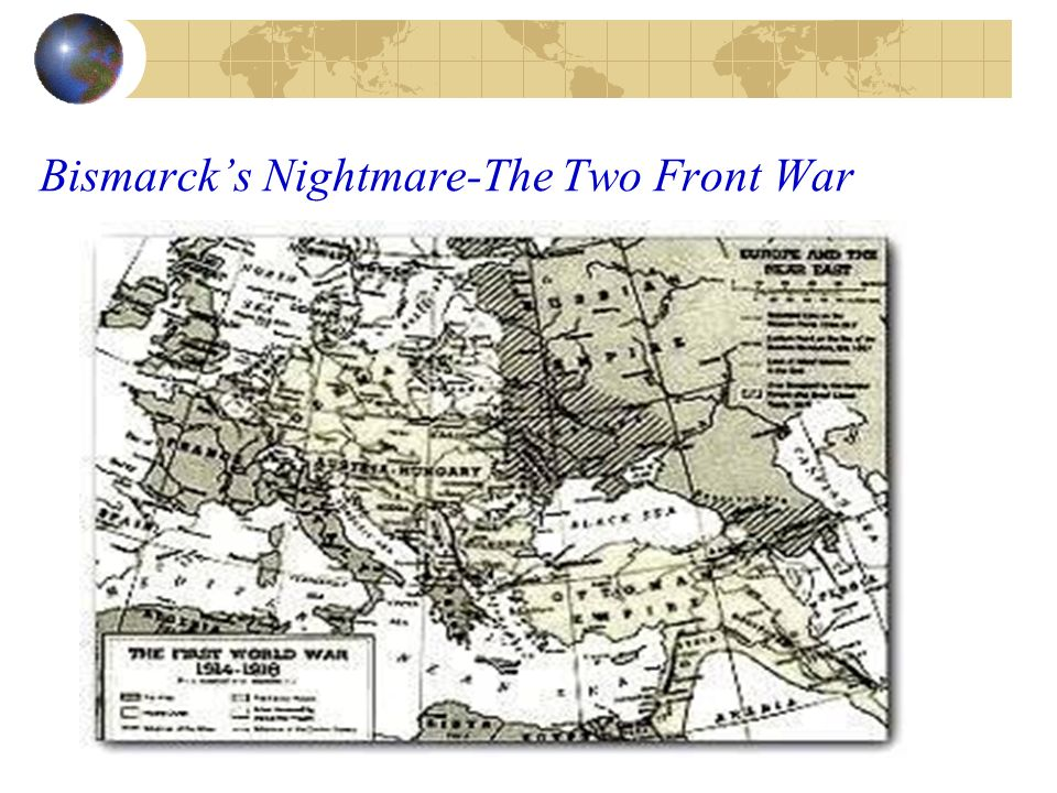 Bismarck's Nightmare-The Two Front War