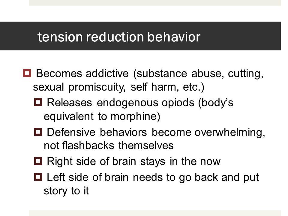 tension reduction behavior