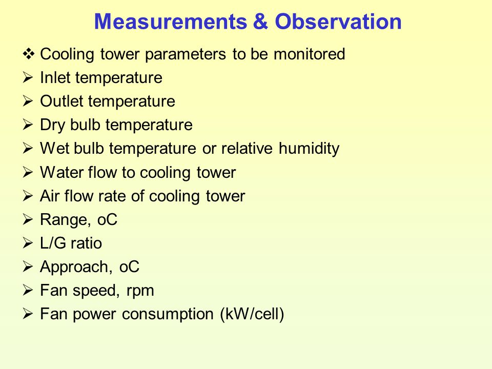 Measurements & Observation