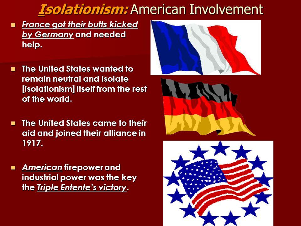 Isolationism: American Involvement