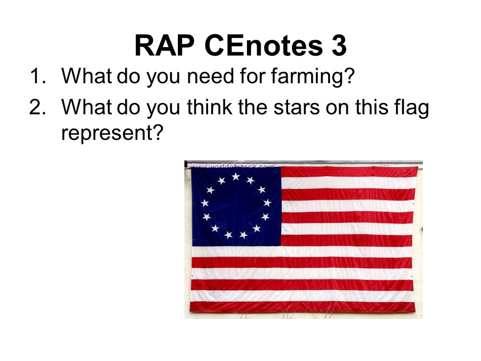 RAP CEnotes 3 What do you need for farming
