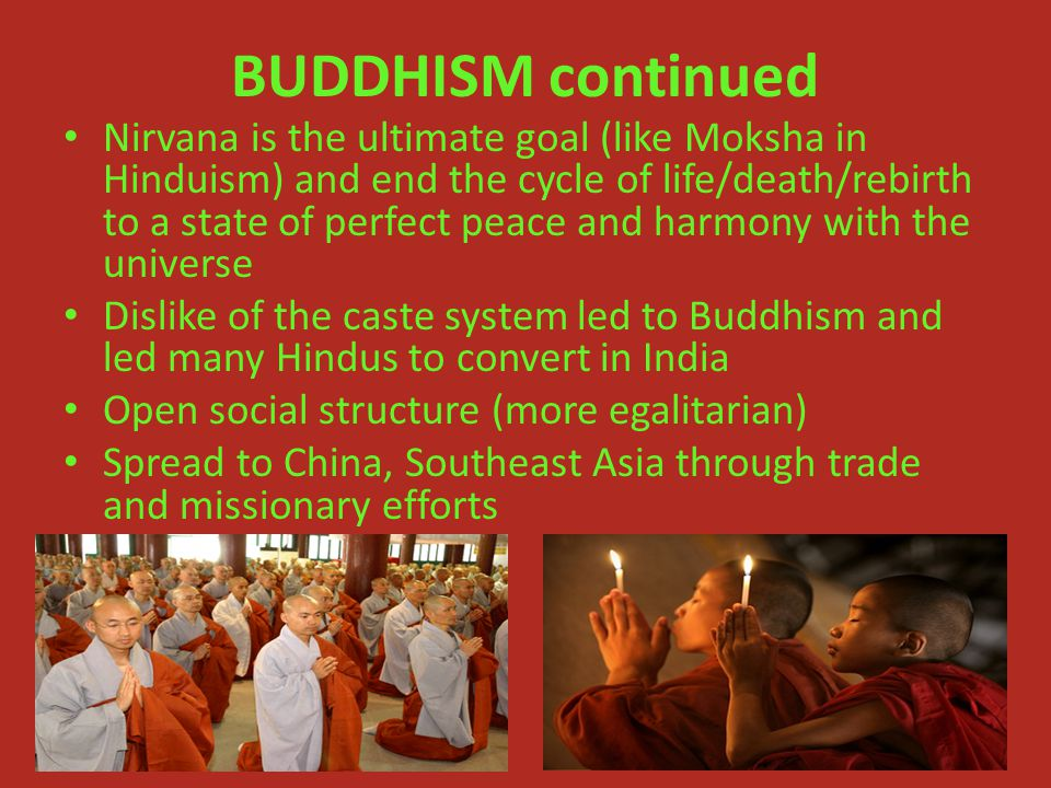 BUDDHISM continued