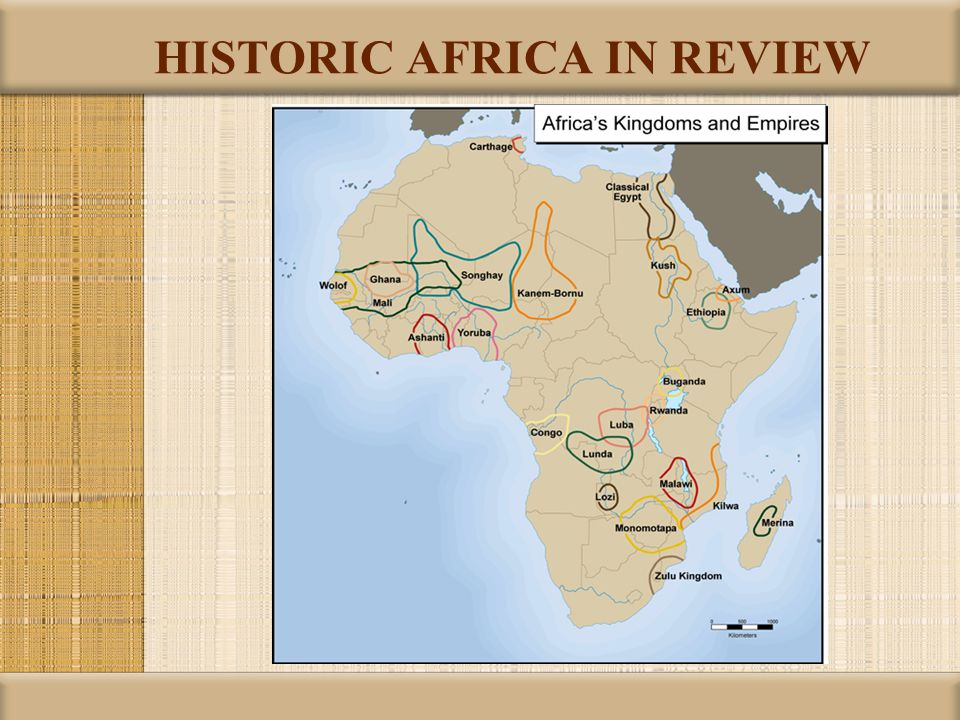 HISTORIC AFRICA IN REVIEW