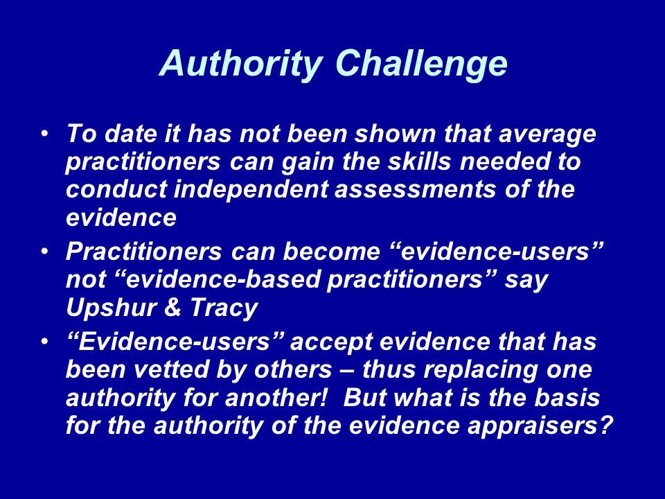 Authority Challenge