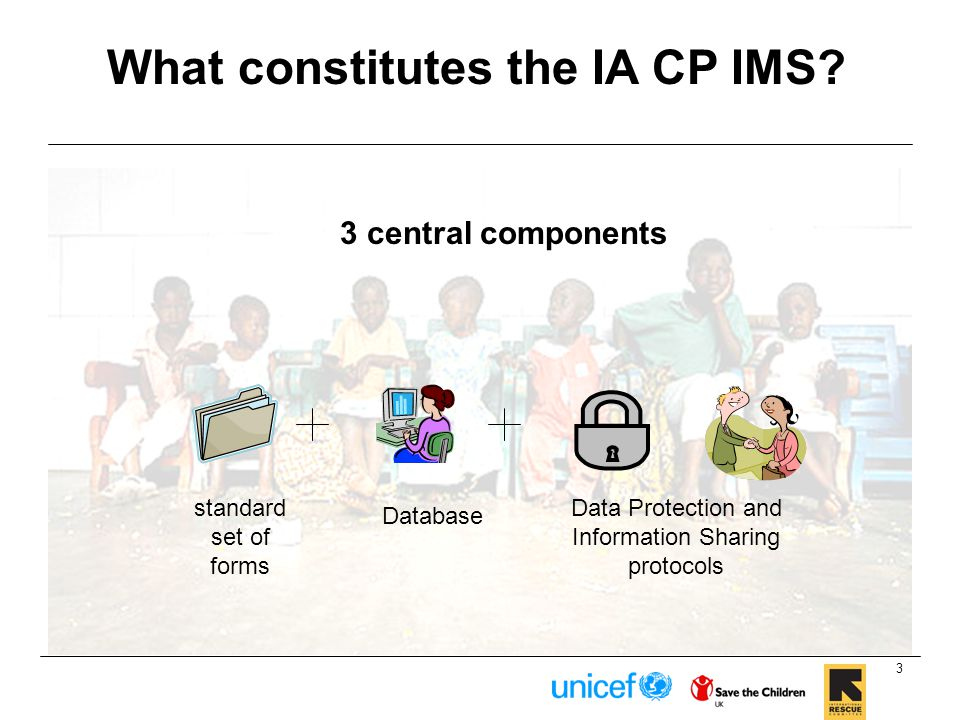 What constitutes the IA CP IMS