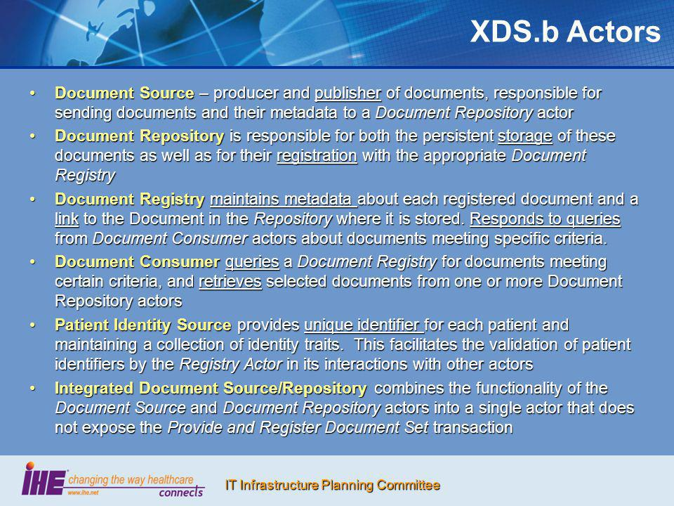 XDS.b Actors