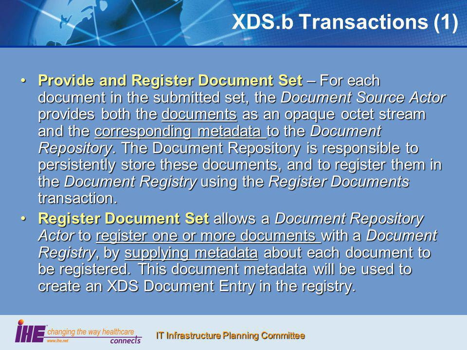XDS.b Transactions (1)