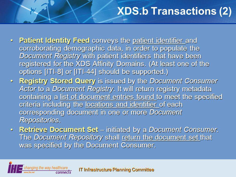 XDS.b Transactions (2)