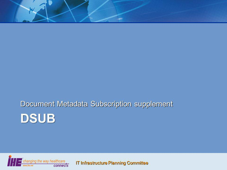 Document Metadata Subscription supplement