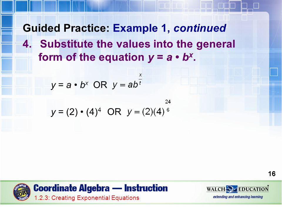 Guided Practice: Example 1, continued