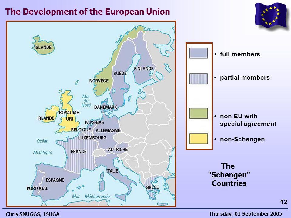 The Schengen Countries