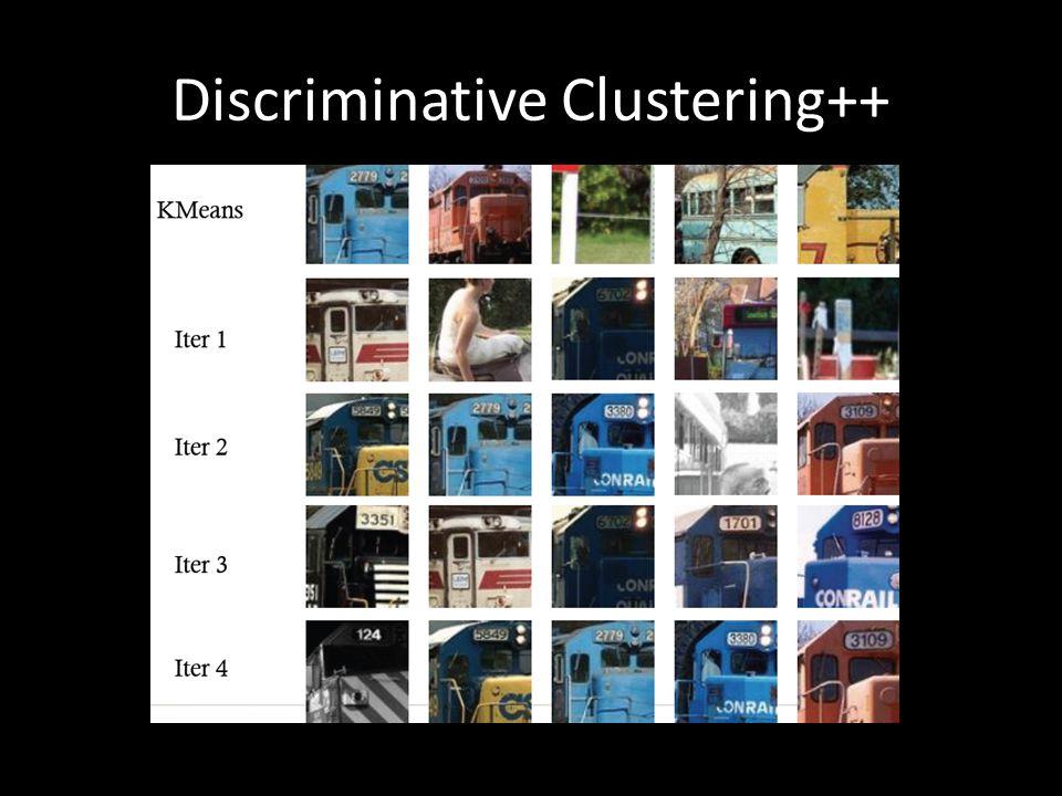 Discriminative Clustering++