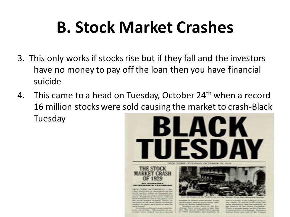 B. Stock Market Crashes
