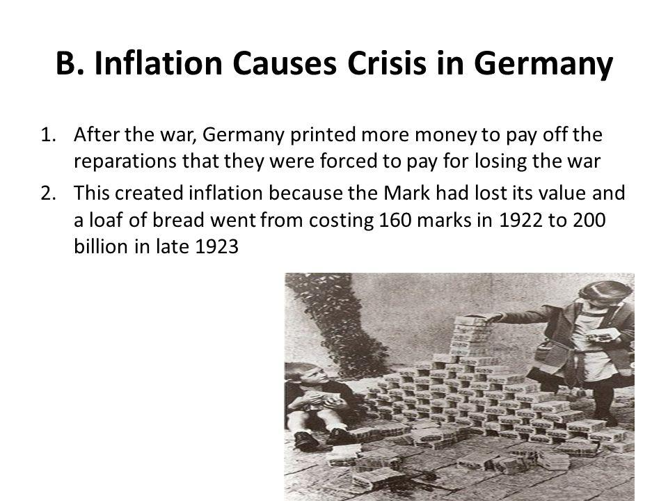 B. Inflation Causes Crisis in Germany