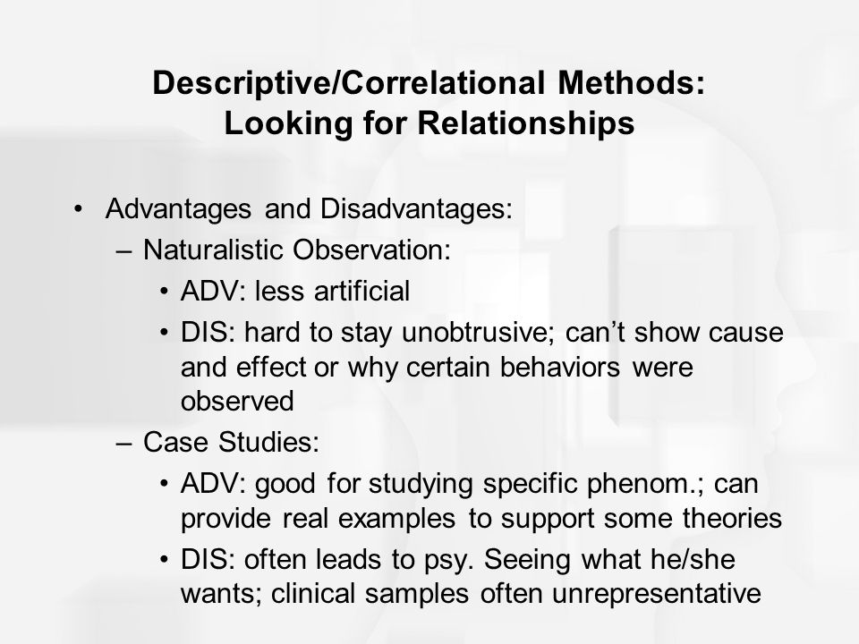 What Are Some Advantages And Disadvantages Of Descriptive Research?