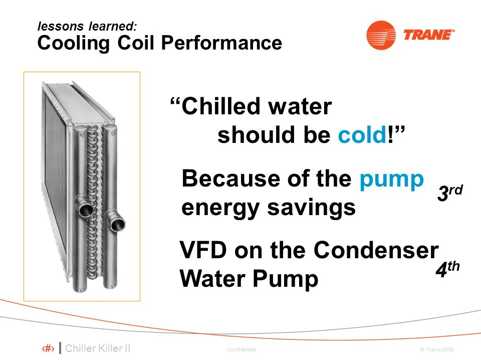 lessons learned: Cooling Coil Performance