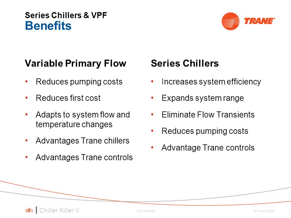 Series Chillers & VPF Benefits