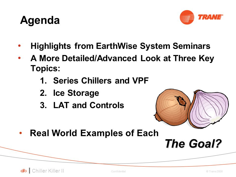 The Goal Agenda Real World Examples of Each