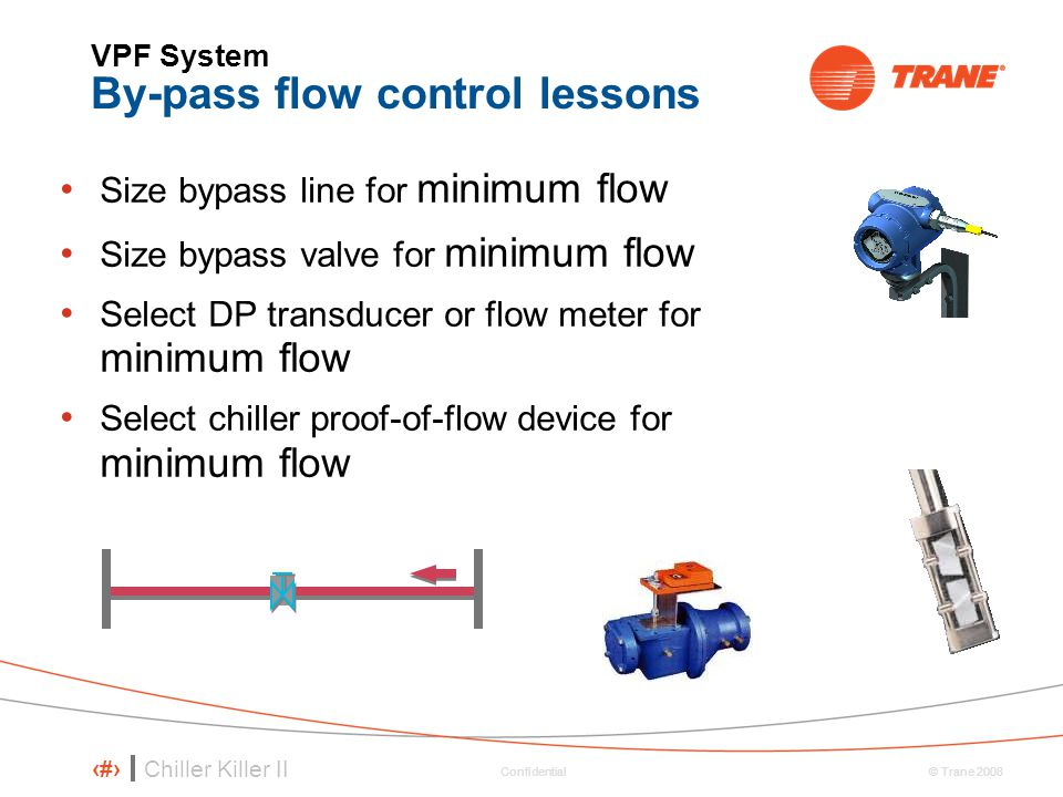 VPF System By-pass flow control lessons