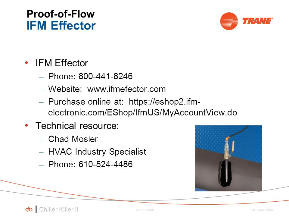 Proof-of-Flow IFM Effector
