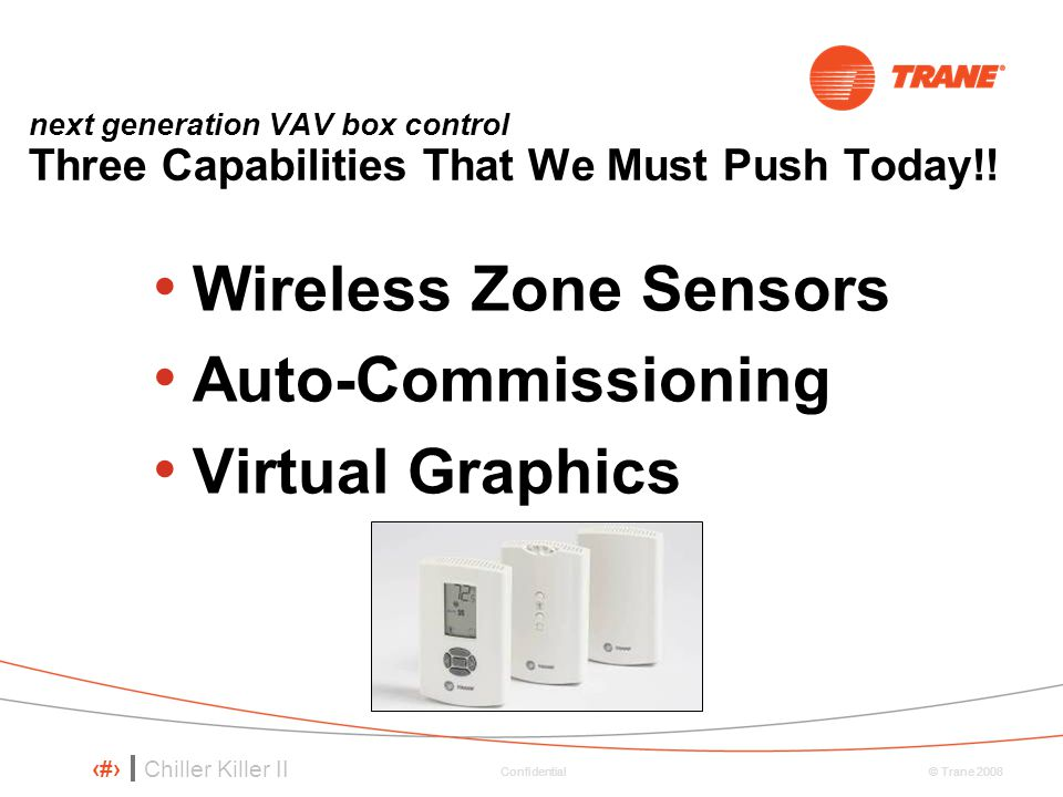 Wireless Zone Sensors Auto-Commissioning Virtual Graphics