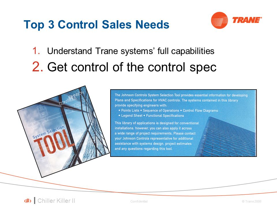 Top 3 Control Sales Needs
