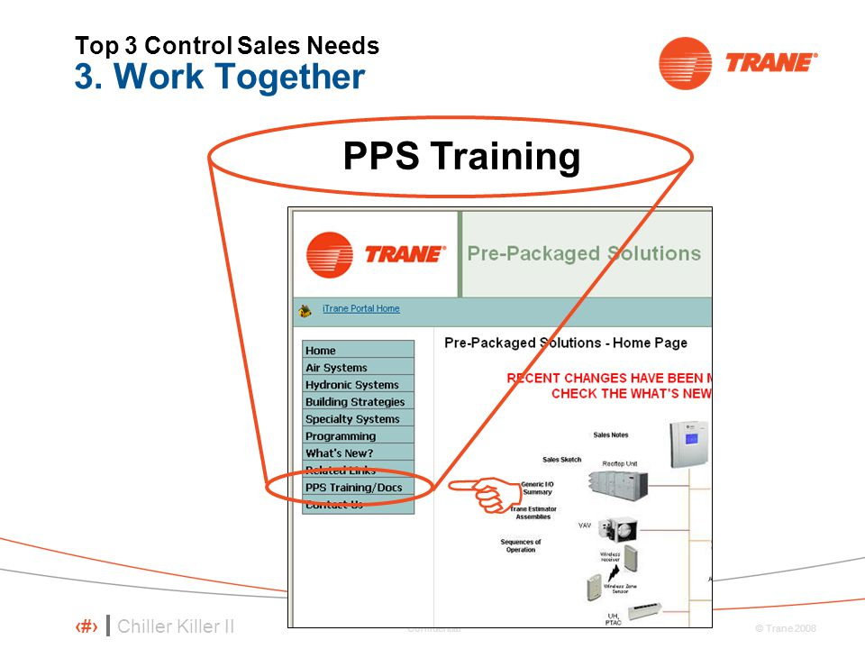 Top 3 Control Sales Needs 3. Work Together