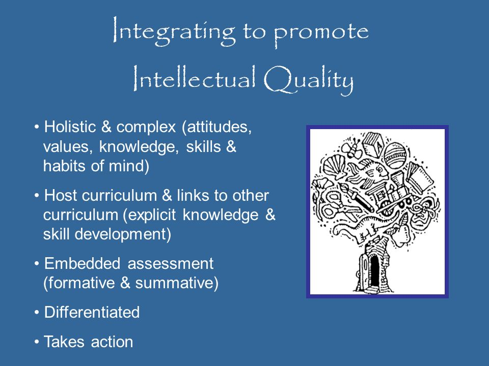 Integrating to promote