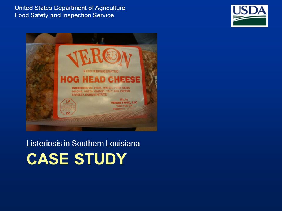 Listeriosis in Southern Louisiana