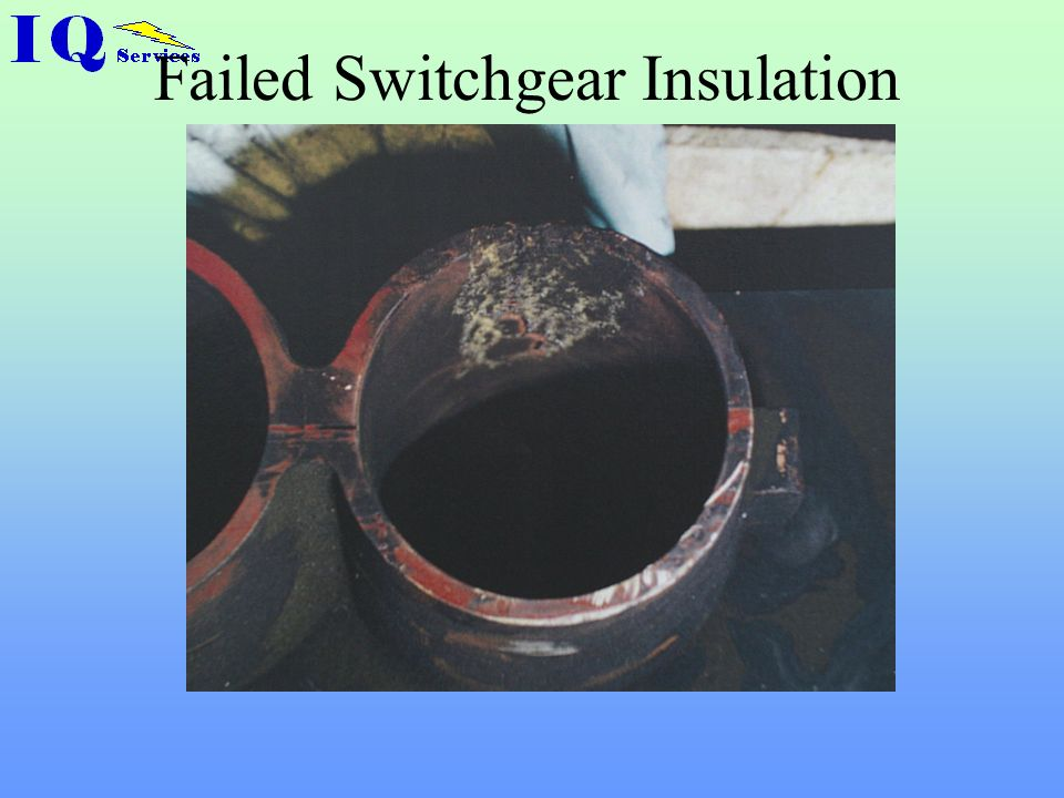 Failed Switchgear Insulation